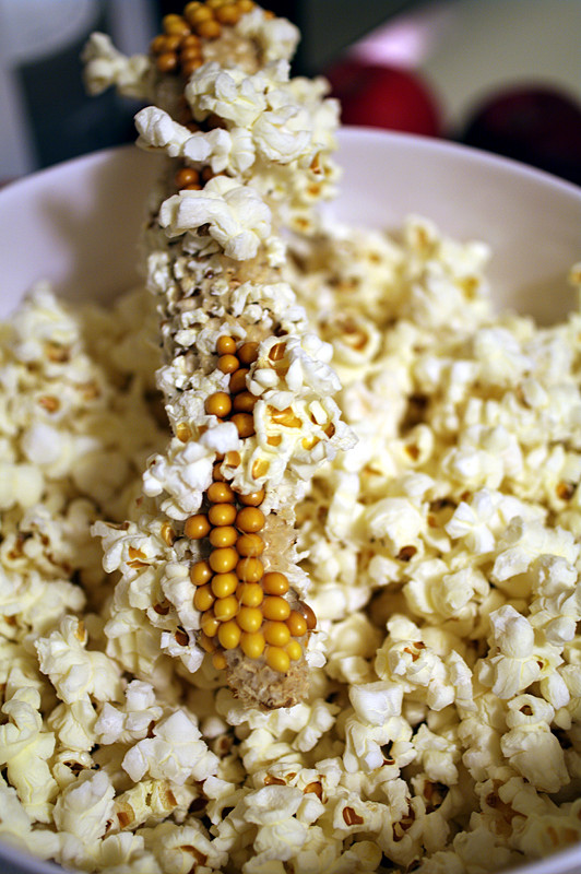 How to make homemade popcorn corn into the cob